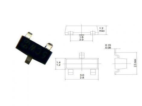 LP2980IM5-3,3 SOT23-5 NSC.