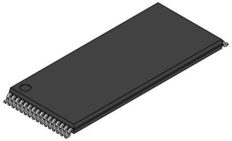 SM621008LLP55T  5V SRAM 128KX8 TSOP32